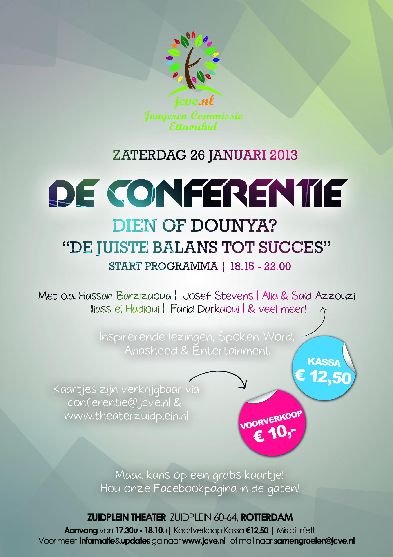 Dé Conferentie: 'Dien of Dounya? De juiste balans tot succes