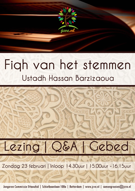 Flyer fiqh van het stemmen 23feb1430u