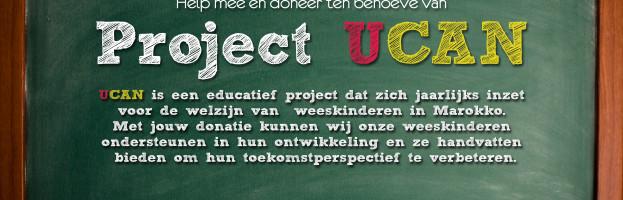 Steun ons en doneer ten behoeve van project UCAN!!