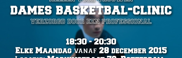Sport: 'Dames Basketbal – Clinic' | Ma 28 dec 2015