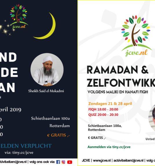 JCVE Activiteiten – Ramadan in Zicht